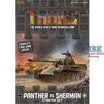 TANKS - Deutsches Grund Paket Panther vs Sherman