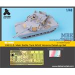 US Main Battle Tank M1A2 Abrams Detail-up Set