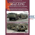 Der sowjetische Panzertransporter MAZ-537G mit MAZ