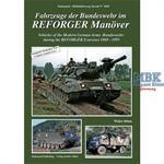 Fahrzeuge der Bundeswehr im REFORGER Manöver