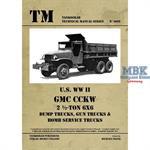 Technical Manual U.S. WW II GMC CCKW 2 ½-TON 6x6 D