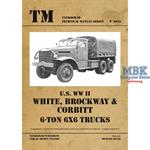 U.S. WW II White-Brockway-Corbitt 6-ton 6x6 Trucks