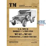 U.S. WW II Dodge WC62-WC63 6x6 Trucks