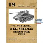 U.S. WW II & Korea M4A3 Sherman (76mm) Medium Tank