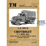 Chervrolet 1 1/2 to 4x4 Truck Cargo M6 Bomb Servic