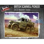 British Scammel Pioneer SV/2S Recovery Tractor