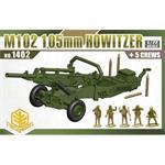 M102 105mm Howitzer + 5 Crew