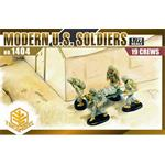 Modern U.S. Soldiers (19 Figures Set)