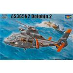 AS365N2 Dolphin 2 Helicopter in 1:35