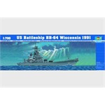 USS Wisconsin 1991  1:700