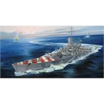 Italian Navy Battleship RN Roma 1:700