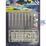 German Bismarck Battleship Upgrade Sets 1:200