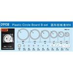 Master Tools: Plastic Circle Board B-set