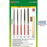 Assorted needle files set (Middle-Toothed)
