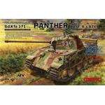 Panther Ausf.A Late with ALU barrel