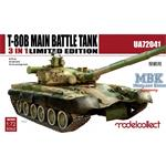 T-80B Main Battle Tank 3in1