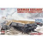 Schwerer Plattformwagen Type ssys 1+1 pack