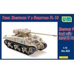 Sherman V Tank with FL-10 Turret