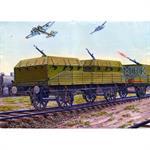 Armored air defense railroad car