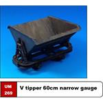 V tipper 60cm narrow gauge