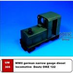 Deutz OMZ122 WW2 German Diesel Locomotive