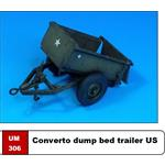 Converto dump bed trailer US