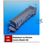 Plateform on Péchot trucks Model GS
