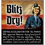 Blitz-Dry - Trockenbeschleuniger für Ölfarben