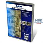 AFV - Acrylic Techniques DVD by MIG JIMENEZ (Valle