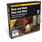 Vallejo Model Color: Rust & Steel Set
