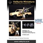 Civil Militia Corps for Technical Truck