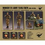Modern US Army Tank Crew - 1980 ~ 90 Era