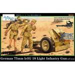 German 75mm LeIG 18 Leichtes Infantriegeschütz