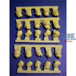German Heads (25 Pieces)
