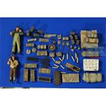 75mm Shermans WWII Crew-Ammo-Stowage-Supplies