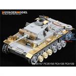 Kettenbleche Panzer III Mid-Late