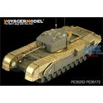 WWII British Churchill Mk.IV Infantry Tank Basic