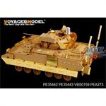 M2A2 ODS Infantry Fighting Vehicle side skirts