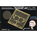 King Tiger (Henschel) Grills set (For TAMIYA)