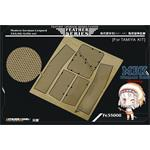 German Leopard 2A5(A6) turret basket set (TAMIYA)