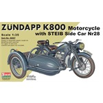 Zündapp K800 Motorcycle w/ Steib Side Car