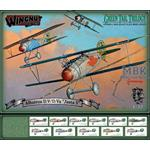 "Albatros D.V/D.Va ""Jasta 5"" Green Tail Trilogy set"