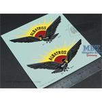 Full scale Albatros factory decals