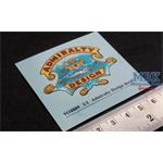 Full scale Admiralty Design propeller decal