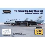 F-14 Mid Type wheel set
