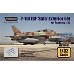 F-16I IDF 'Sufa' Exterior set
