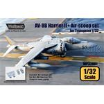 AV-8B Harrier II+ Correct Air-scoop set