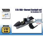 F/A-18A+ Hornet Cockpit set