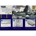 Hawker Sea Hawk Folding wing set