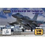 F-16E Block 60 'UAE' Cockpit set